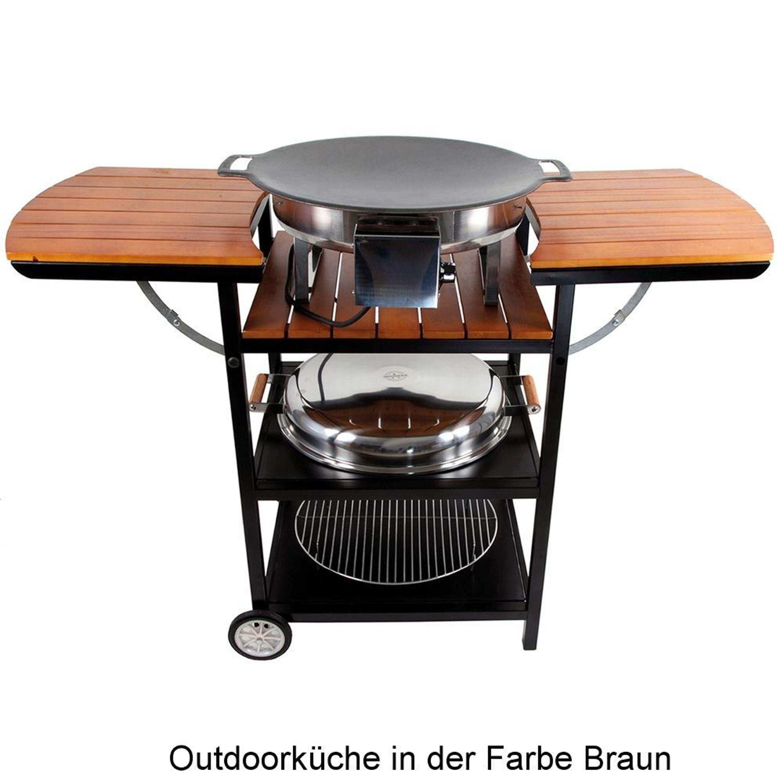 Outdoor kuche elektro for Outdoorkuche mit grill