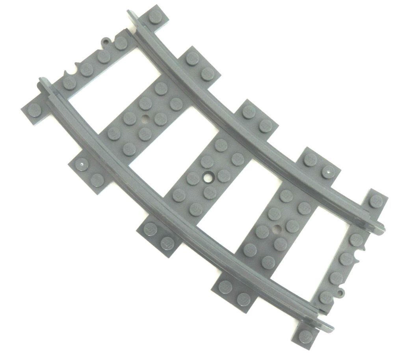 LEGO® Eisenbahn 3x Schienenkreis 48x gebogne Schienen