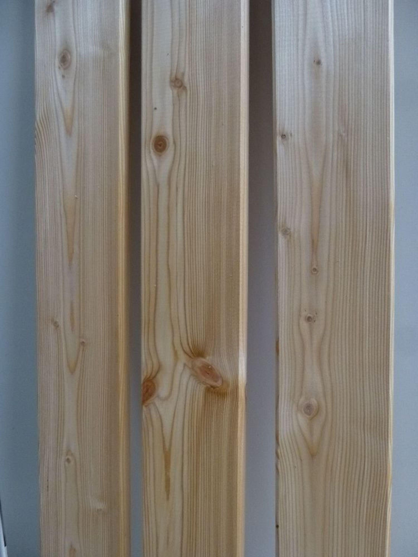 Zaun Rundkopf Zaunlatten Sibirische Larche 20 X 95 Mm Lange 0 80 1