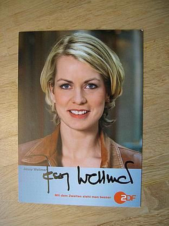 ZDF Fernsehmoderatorin <b>Jessy Wellmer</b> - handsigniertes Autogramm!!! gebraucht <b>...</b> - 18408609