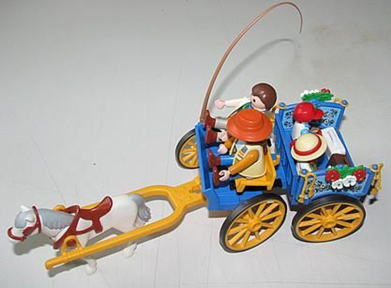 Playmobil 3117 kutsche zum reiterhof 3120 komplett kaufen - Kutsche playmobil ...