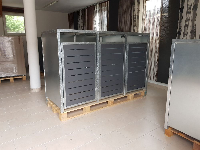Häufig Mülltonnenbox, Verkleidung Mülltonne, Mülltonnenhaus, Box für TG61