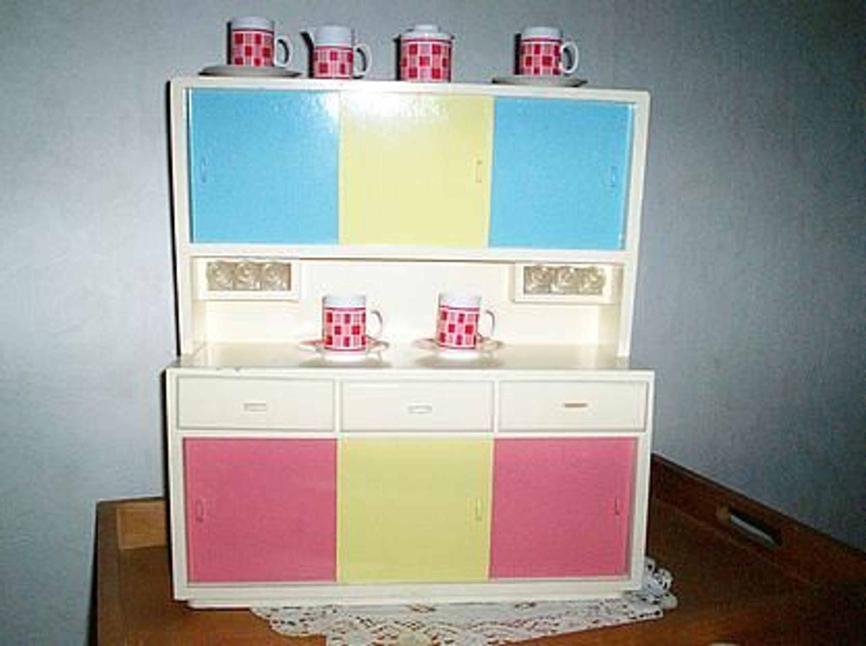 puppenk che aus holz 1950 gebraucht kaufen bei. Black Bedroom Furniture Sets. Home Design Ideas