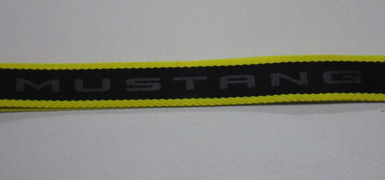 2d2382201d11e Ford Mustang Lanyard Schlüsselanhänger Schlüssel gelb Schlüsselband  35021321 kaufen bei Hood.de