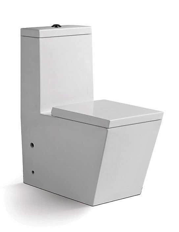 Berühmt Design Boden WC Stand Toilette mit Spülkasten Weiß mit Lotus HV91