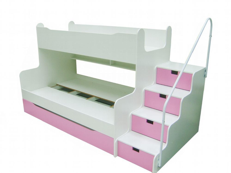 Etagenbett Grau : Hochglanz etagenbett alex in drei farben