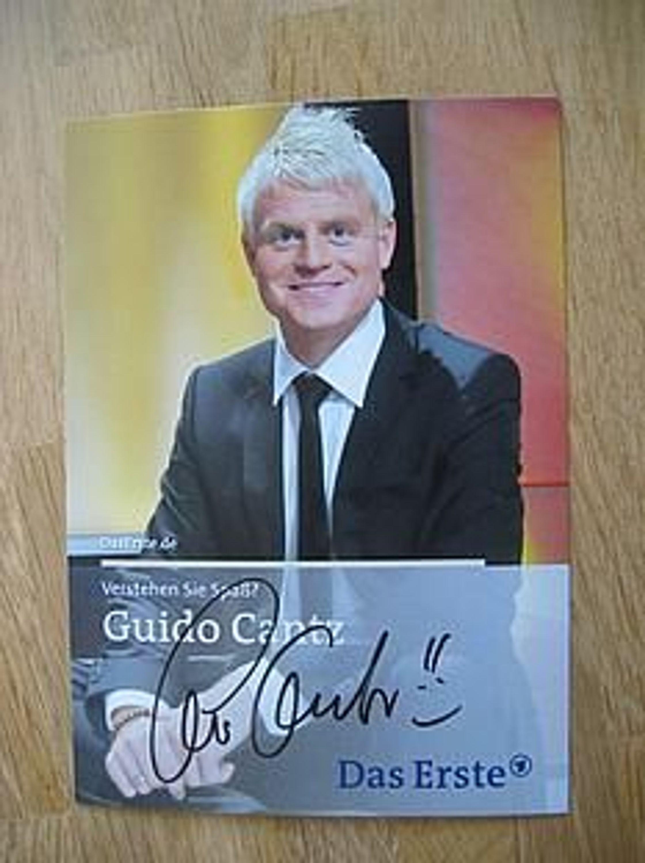 Verstehen Sie Spaß - Guido Cantz - handsign  Autogramm!