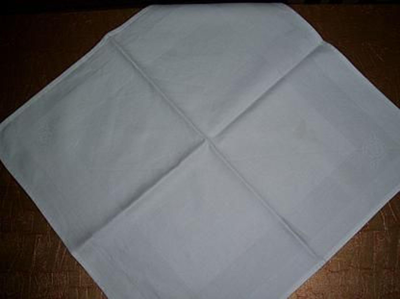 damast tischdecke tischtuch wei 46 x 48cm kaufen bei. Black Bedroom Furniture Sets. Home Design Ideas