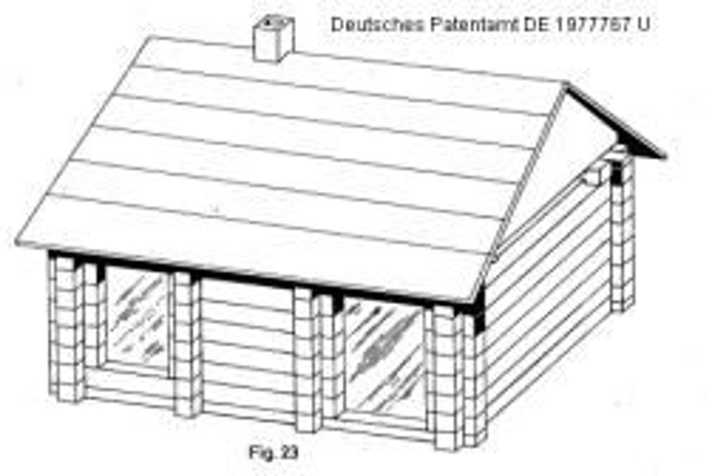 blockhaus blockh tte ca 2700 seiten patente ideen. Black Bedroom Furniture Sets. Home Design Ideas