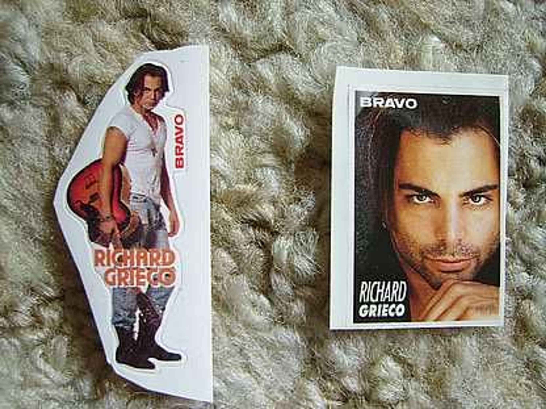 Richard Grieco  Bravo-aufkleber Film-fanartikel