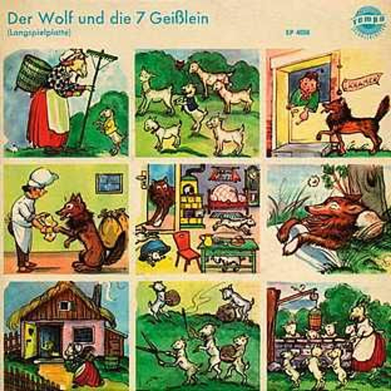 """7""""mÄrchen · der wolf und die 7 geißlein (rar 1956) kaufen"""
