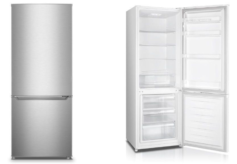 Kühlschrank Pkm : Kühl gefrierkombination kühlschrank inox pkm kg 280ix a 277l