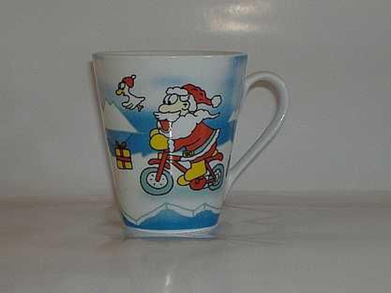 Weihnachten Tasse Santa Elch Geschenke Dekor R B