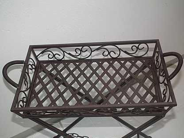 beistelltisch blumentisch pflanzenst nder metall kaufen bei. Black Bedroom Furniture Sets. Home Design Ideas
