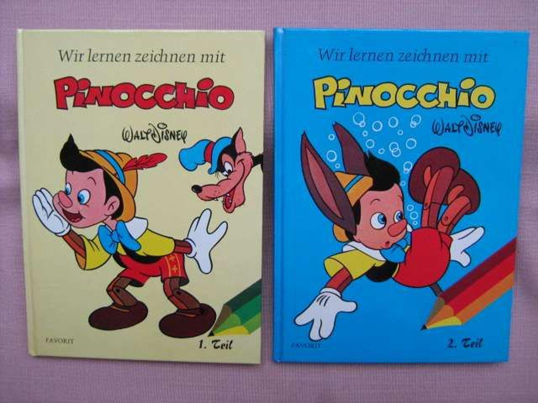 Walt Disney Wir Lernen Und Zeichnen Mit Pinocchio 1 2 Favorit