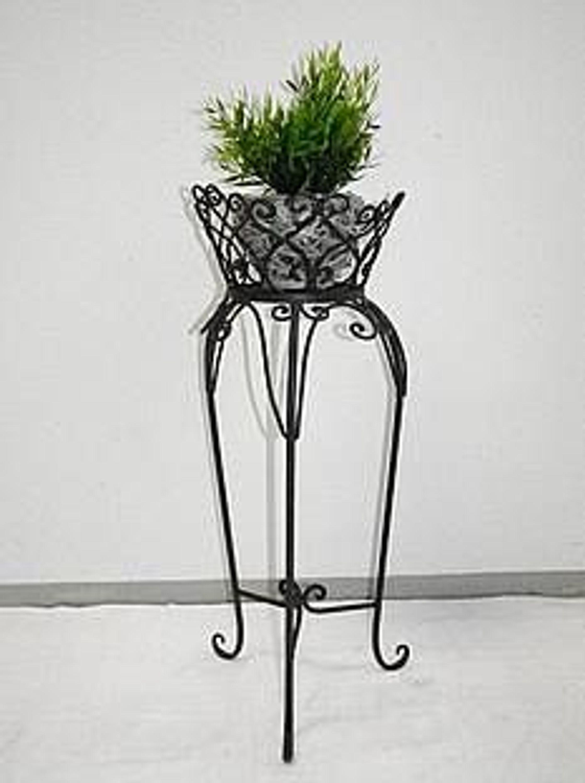 blumenst nder pflanzenst nder eisen 71 cm hoch kaufen bei. Black Bedroom Furniture Sets. Home Design Ideas
