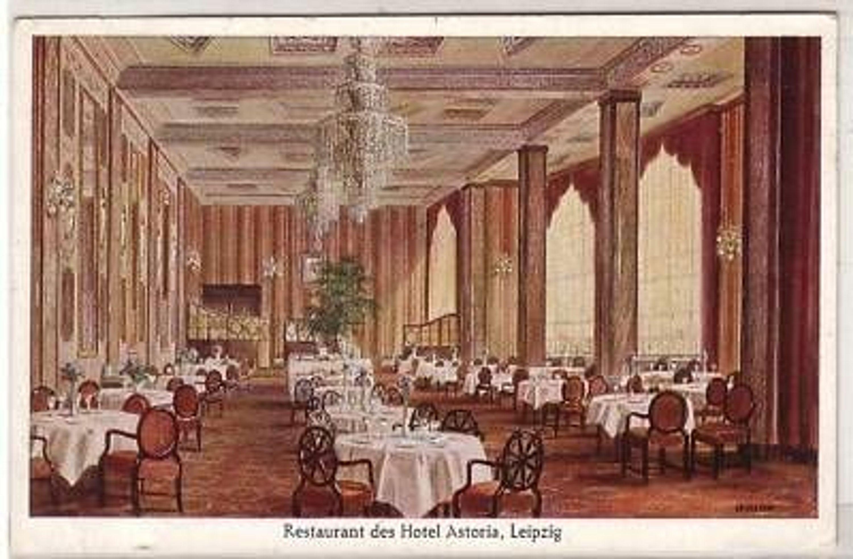 32 52 ak leipzig restaurant des hotel astoria 1929 kaufen bei. Black Bedroom Furniture Sets. Home Design Ideas