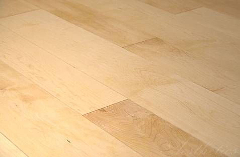 Ahorn Kanadische Massivholzdielen Holzdielen Selekt 20 X 135 Mm