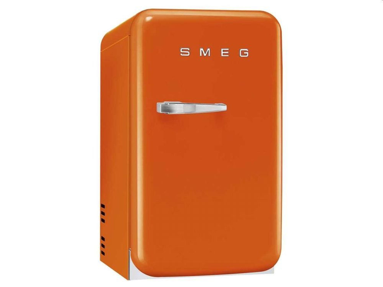 Mini Kühlschrank Geräuschlos : Smeg fab ro mini kühlschrank orange kaufen bei hood