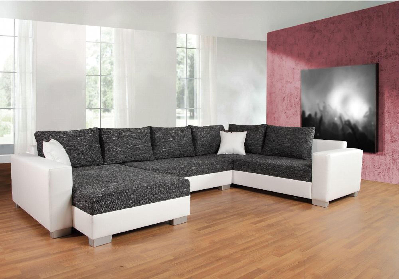 Couchgarnitur Sofa Garnitur Schlafsofa Puebla Mit Schlaffunktion U