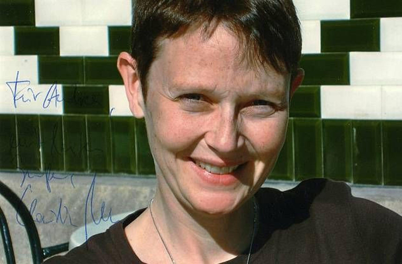 Claudia nolte ehem ministerin originalautogramm aus for Nolte apothekerschrank korb