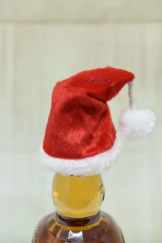 Gingar Deko Flaschendeko Mütze Eier Deko Xmas Weihnachten 2 Tlg