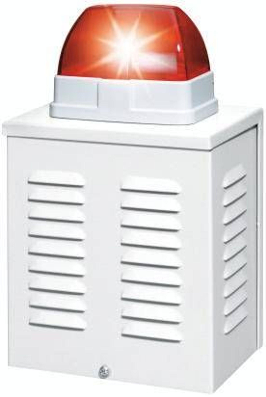 abus sg3210 sirene und blitz alarmanlagen attrappe kaufen bei. Black Bedroom Furniture Sets. Home Design Ideas