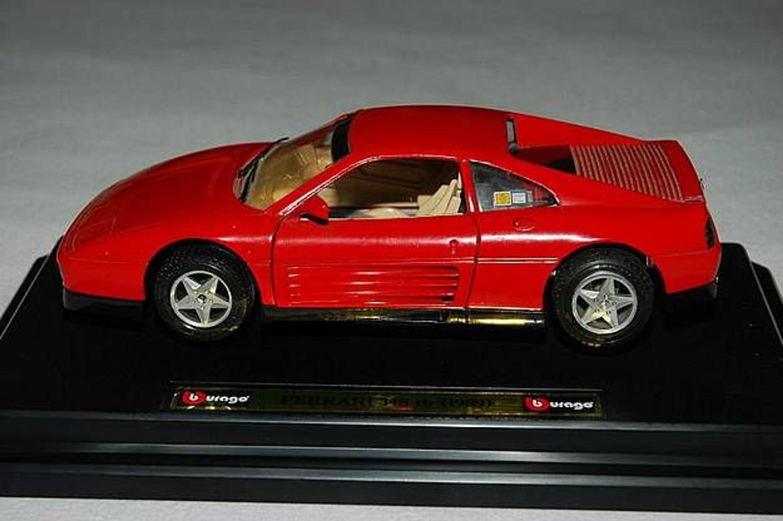ferrari 348 tb 1989 burago modellauto modell auto gebraucht kaufen bei. Black Bedroom Furniture Sets. Home Design Ideas
