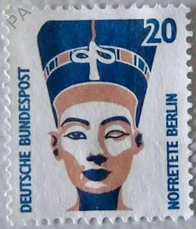 Briefmarke Nofretete Berlin 20 Pfennig Mi Nr 1398 Gebraucht