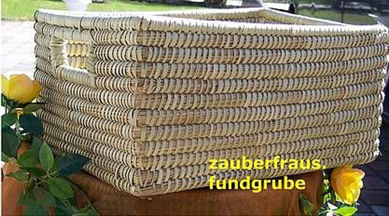 korb 40cm eckig seegras regalkorb natur spitzen qualit t in handarbeit versandfrei kaufen bei. Black Bedroom Furniture Sets. Home Design Ideas