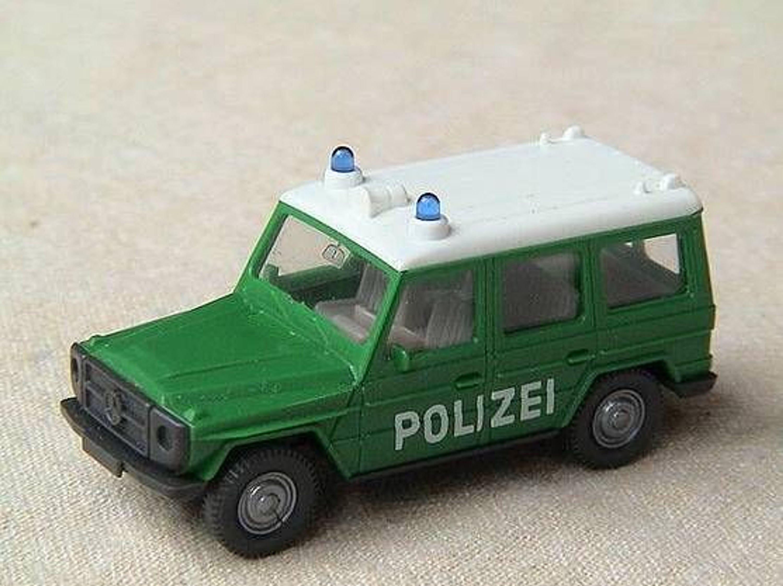 wiking mb g modell polizei gebraucht kaufen bei. Black Bedroom Furniture Sets. Home Design Ideas