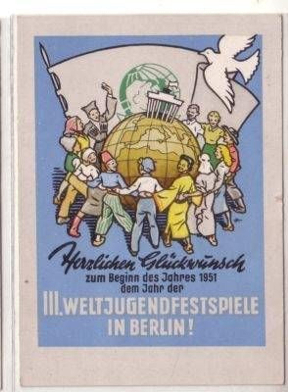 ... III. Weltjugendfestspiele in Berlin 1951 gebraucht kaufen bei Hood.de