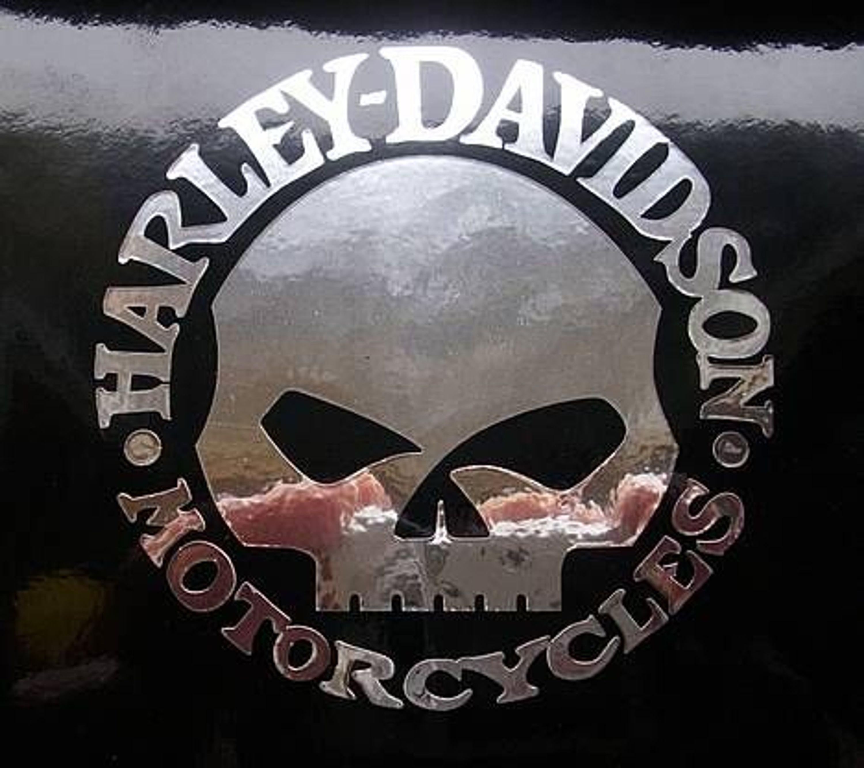 aufkleber sticker harley davidson skull 0407 kaufen bei. Black Bedroom Furniture Sets. Home Design Ideas