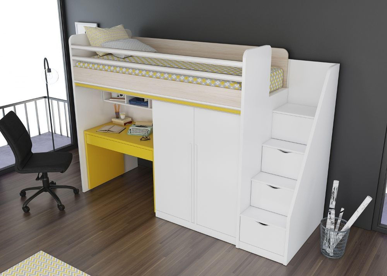 Etagenbett Mit Schubladen Treppe : Smart treppe für hoch etagenbett mit schubladen kaufen bei hood