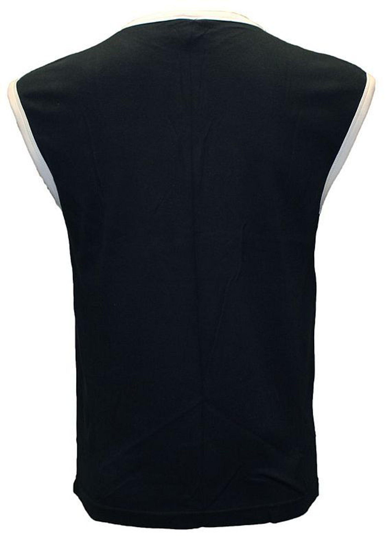 801ead52dac5eb Herren Achsel Shirt ärmellos Hemd Baumwolle Tank Top Muskel Shirt Aufnäher S -XL kaufen bei Hood.de