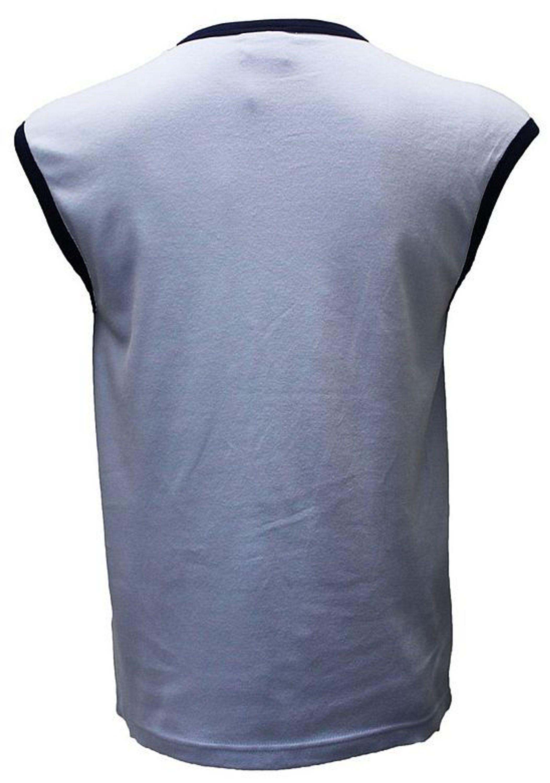 a20d8b04d1ad53 Herren Achsel Shirt ärmellos Hemd Baumwolle Tank Top Muskel Shirt Aufnäher S -XL. Doppelt tippen zum Vergrößern