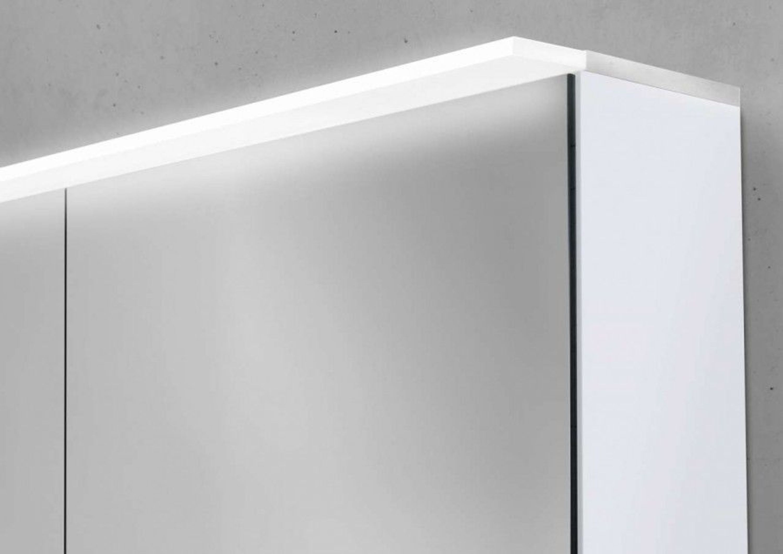 Fabulous Spiegelschrank 100 cm LED Acryl Lichtplatte doppelseitig PP38