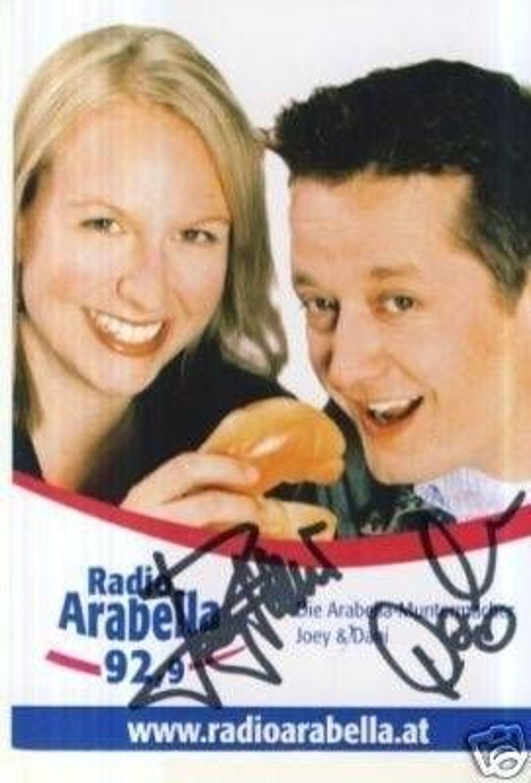 Joey Dani Radio Arabella Autogrammkarte Original