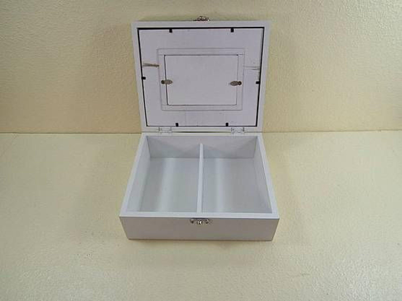 n hk stchen n hkasten schatulle box holz wei dekorativer deckel f r foto kaufen bei. Black Bedroom Furniture Sets. Home Design Ideas