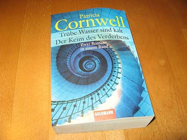 patricia cornwell der keim des verderbens tr be wasser sind kalt 2 romane gebraucht kaufen. Black Bedroom Furniture Sets. Home Design Ideas