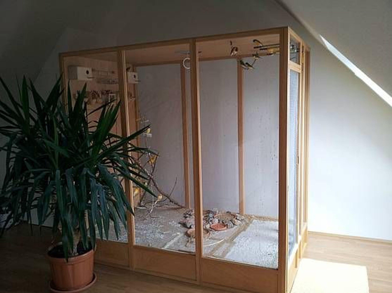 Luxus-Wohnzimmer-Voliere gebraucht kaufen bei Hood.de