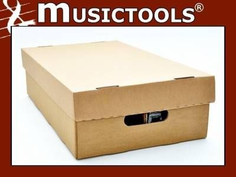 cd pappbox mit deckel aus pappe f r 100 compact disc kaufen bei. Black Bedroom Furniture Sets. Home Design Ideas