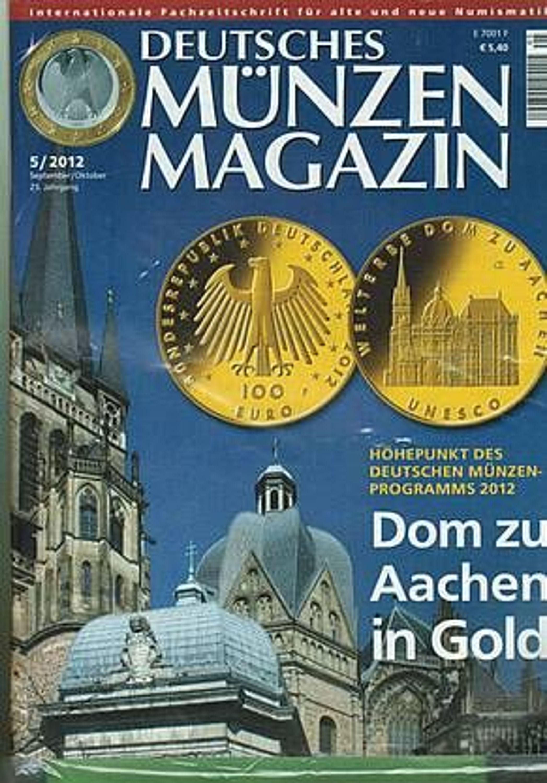 Deutsches Münzen Magazin 52012 Orignalverpackt Eingeschweißt
