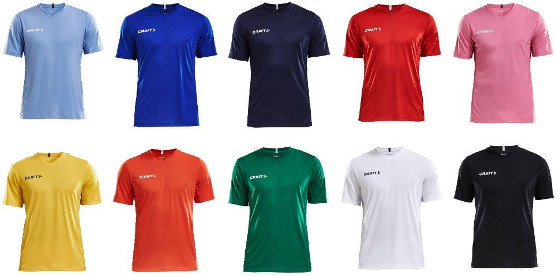 superior quality ccee4 acfe0 CRAFT Trikot Squad Jersey Solid Gr. XS-3XL Fußballtrikot Sporttrikot  Sportshirt