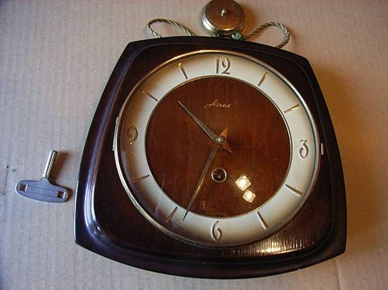 """Wanduhr Wohnzimmer Uhr """"Haid"""" 60Er Jahre Kaufen Bei Hood.De"""