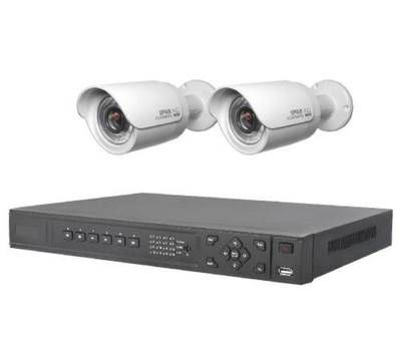 video berwachung nvr mit 2xhd ip kamera berwachungskamera handybenachrichtigung kaufen bei. Black Bedroom Furniture Sets. Home Design Ideas