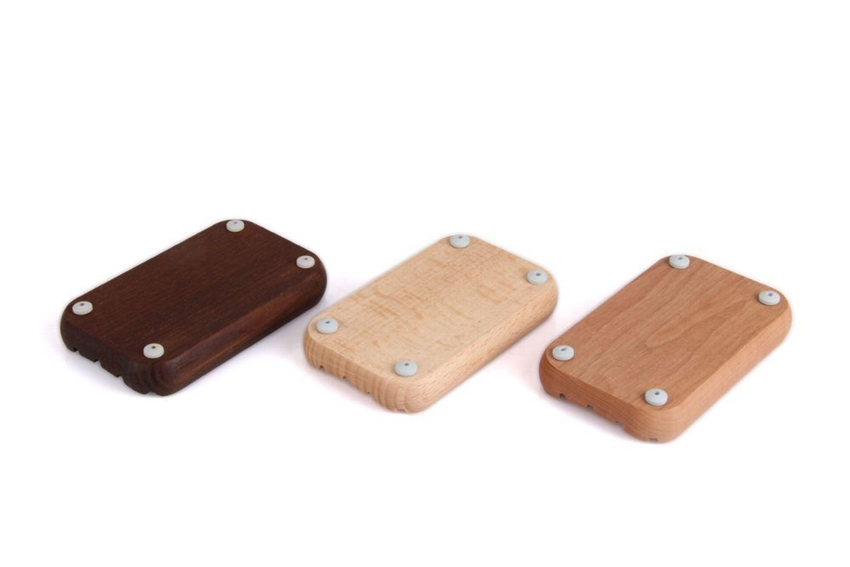 Redecker Seifenunterlage Seifenablage Mit Gummifüßen In 3 Varianten Z2416 Ablagen, Schalen & Körbe Möbel & Wohnen