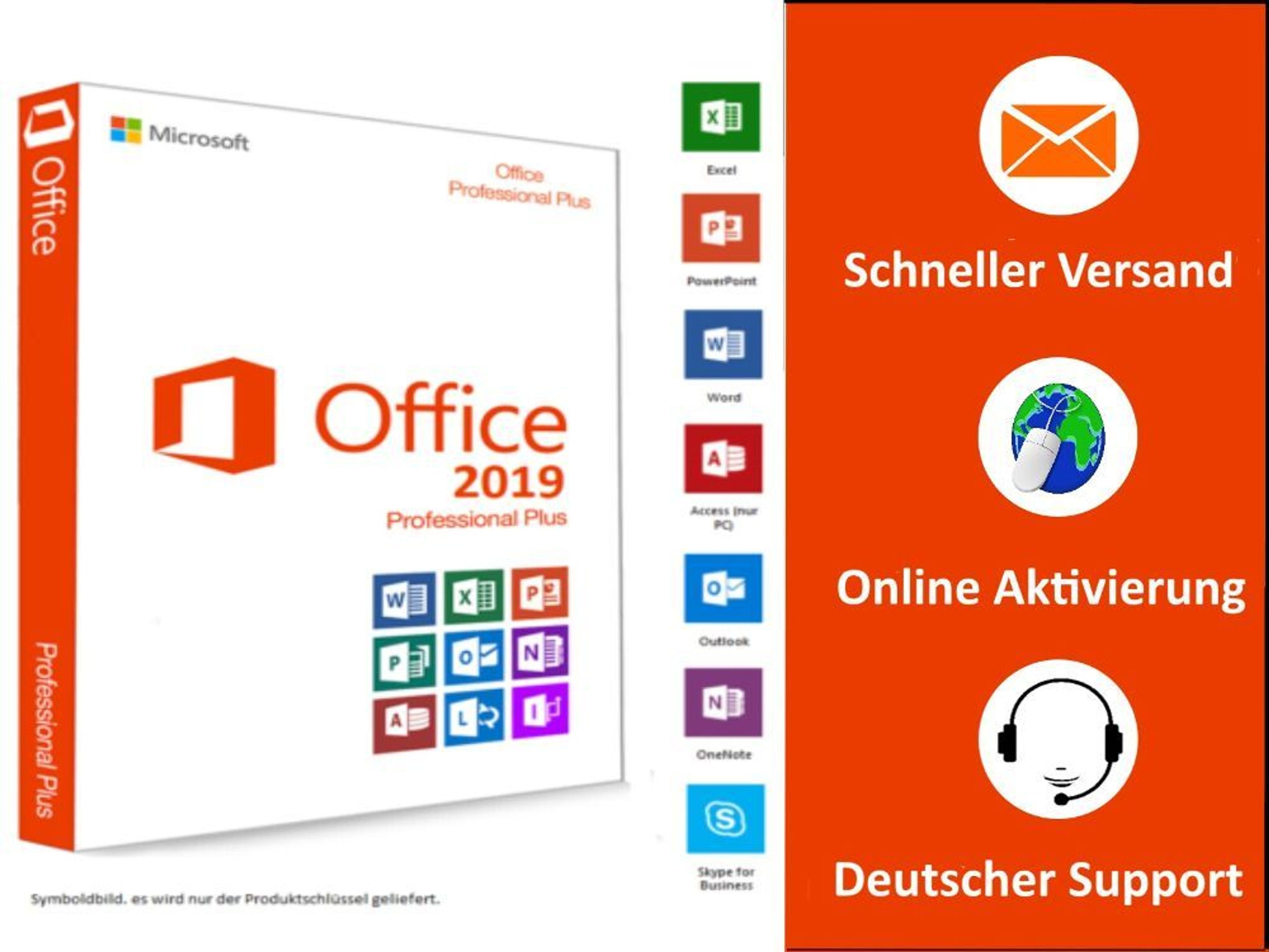 microsoft office 2019 professional plus ms office 2019 pro plus vollversion kaufen bei. Black Bedroom Furniture Sets. Home Design Ideas