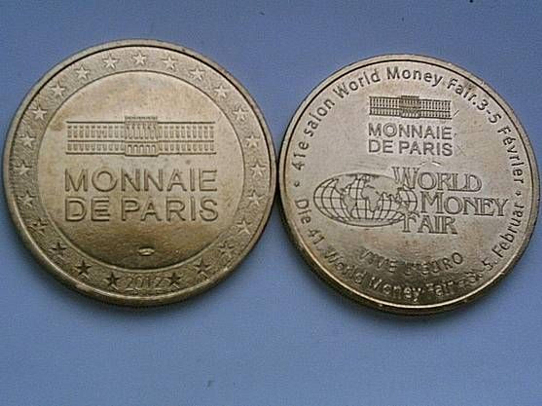 original bronze medaille frankreich monnaie de paris zur word money fair berlin 2012 kaufen bei. Black Bedroom Furniture Sets. Home Design Ideas