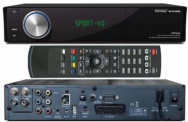 opticum hd 9600 ts hdtv satelliten receiver 2x ci 2x cx slot pvr ready usb gebraucht kaufen bei. Black Bedroom Furniture Sets. Home Design Ideas